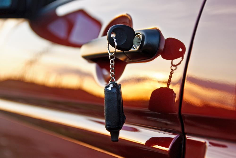 Key locked in car Weymouth
