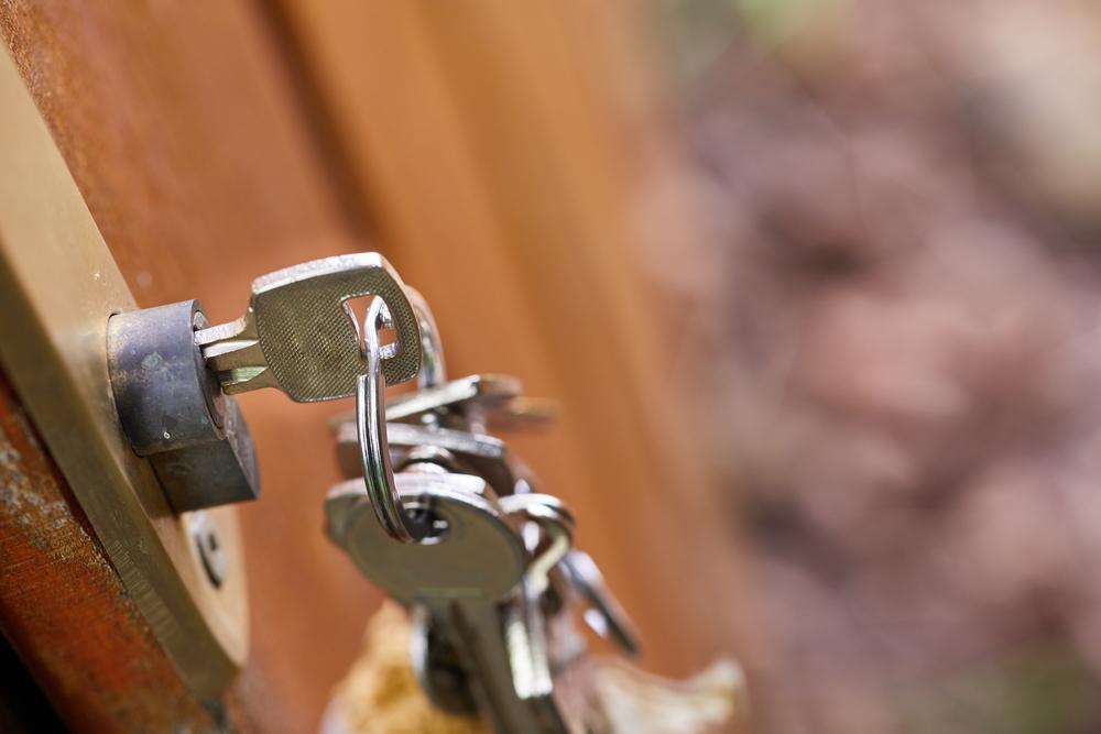 Keys in Door Lock Weymouth