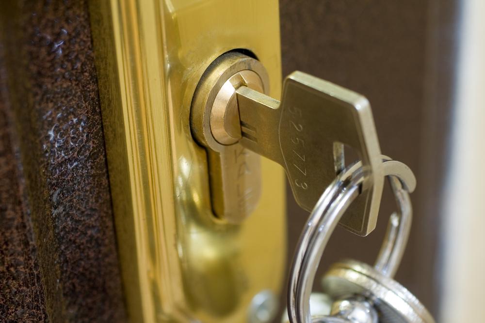 Key in Door Lock Weymouth